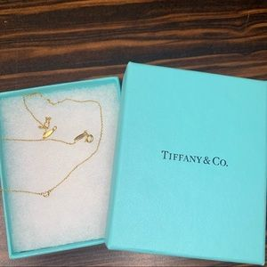 Authentic Tiffany Diamond By The Yard Necklace